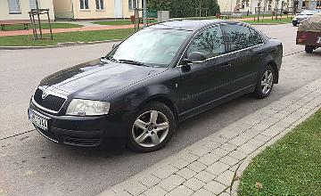 Skoda Superb, 2.5 l., sedanas