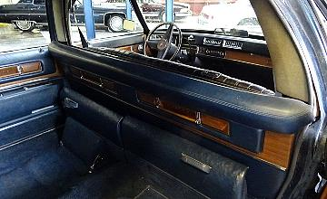 Cadillac fleetwood limousine chauffer's 75