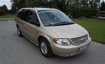 Chrysler Town & Country, 3.3 l., vienat?ris