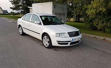 Skoda Superb, 1.9 l., sedanas