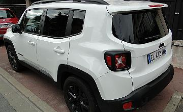 Jeep renegade alpine white