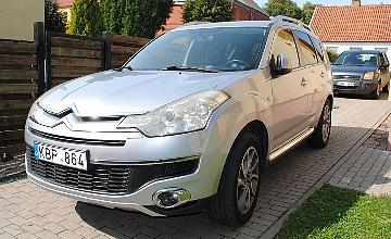 Citroen C Crosser, 2.2 l., visureigis