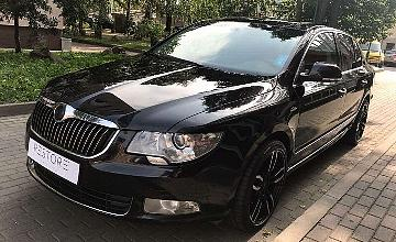 Skoda Superb, 2.0 l., sedanas