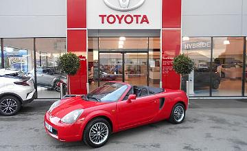 Toyota MR cabriolet 63163 kms