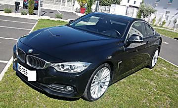 Bmw serie 4 coupe 420 d luxury bva 8 sport 1 main
