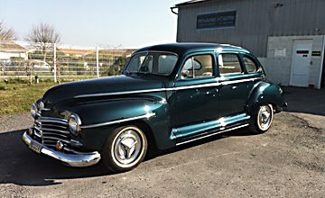 PLYMOUTH Custom Special Deluxe 1948