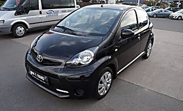 "Toyota Aygo 1.0 ""Cool"" 1.Hand+Scheckheft bei Toyota+LED"