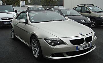 Bmw serie 6 cabriolet 635d