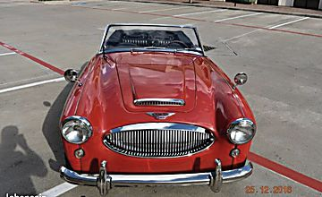 Austin Healey 3000 BJ8 MKIII 1964 restaurée 2016